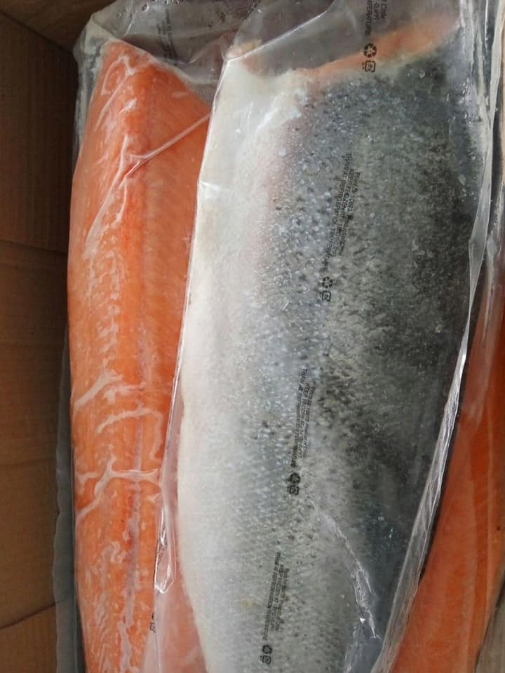 Frozen Salmon Fillet Supply Malaysia - Descaled Salmon Fish from Chile
